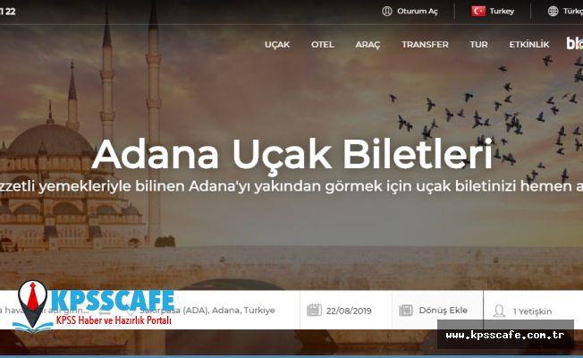 Adana Uçak Bileti