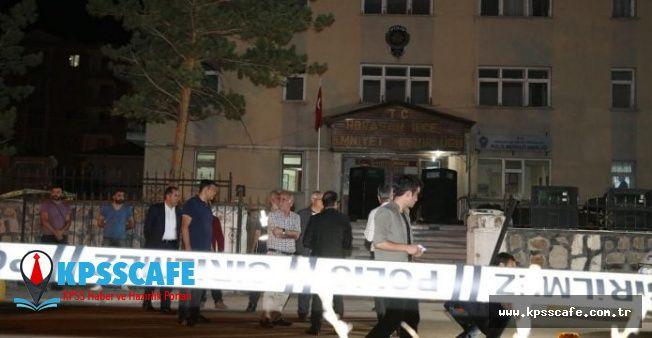 Erzurum Horasan'da Emniyetin Önünde Kavga: Ölüler ve Yaralılar Var (Aralarında Polis de Var)