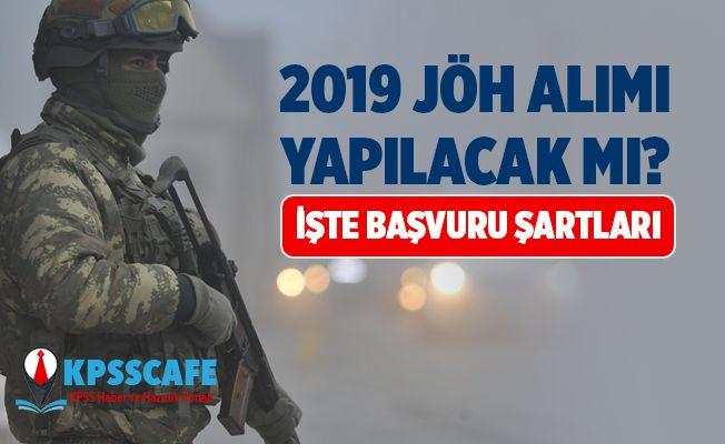 2019 Jandarma Özel Harekat (JÖH) Alımı Ne Zaman Yapılacak?