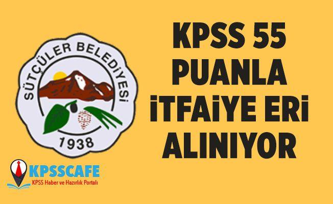 KPSS 55 Puanla İtfaiye Eri Alınıyor! İşte Başvuru Şartları!