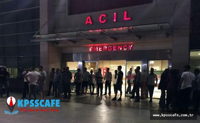 Balkonda uyuyan kadın, kafasına isabet eden kurşunla ağır yaralandı