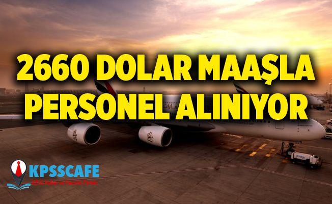 2 Bin 660 Dolar Maaşla Kabin Memuru Alınıyor!