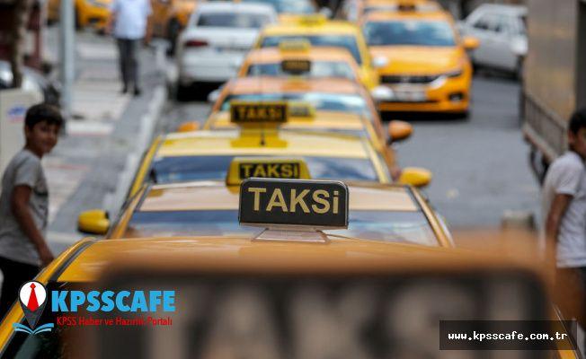 Taksiciler 500 TL vererek taksimetrelerini ayarlattı