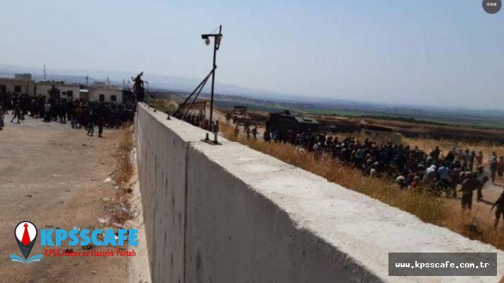 Suriye'deki gerginlik sonrası sınır kapısı kapatıldı !