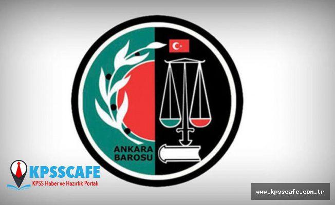 Ankara Barosu, adli yıl açılışını adliyede yapacak