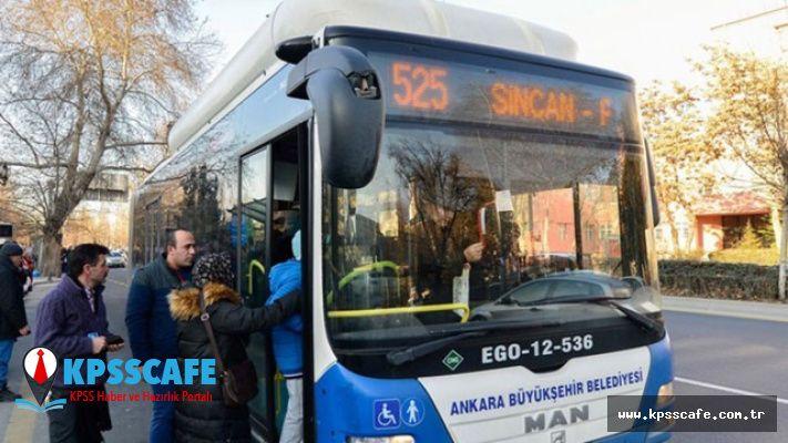 Ankara'da toplu taşımaya yüzde 30 zam !