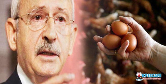 Kılıçdaroğlu'na yumurtalı saldırı