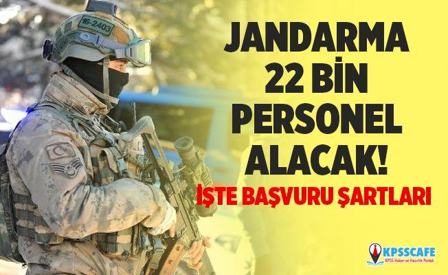 Jandarma 22 Bin Personel Alacak! JGK Uzman Onbaşı ve Uzman Çavuş Başvuru Şartları Nelerdir?