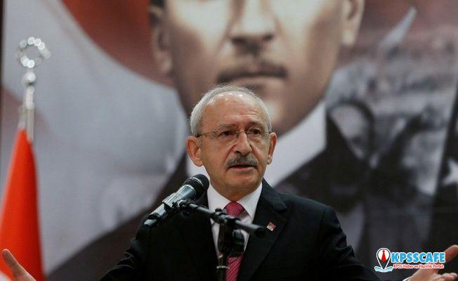 Kılıçdaroğlu: TSK'ya ilişkin rahatsız edici duyumlar var