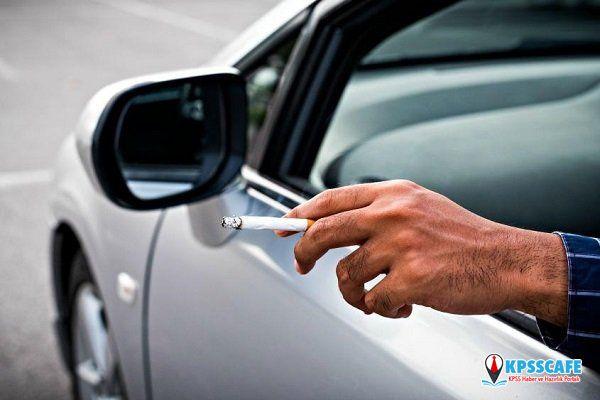 Polis affetmedi! Araçta sigara içenlere ceza yağdı