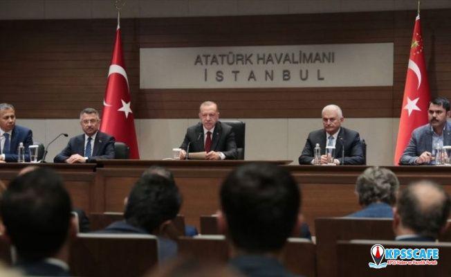 Erdoğan: 'Köprüleri kullanmayın, halatları koptu' diye densizlik yapan bir kadın var, böyle bir şey söz konusu değil