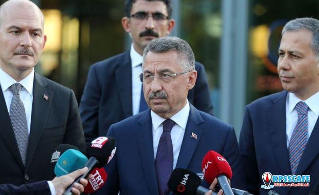 Cumhurbaşkanı Yardımcısı Oktay'dan deprem açıklaması: GSM şirketlerinin kapasitesi arttırılacak