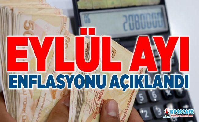 SON DAKİKA:Eylül Ayı Enflasyon Rakamları Açıklandı!