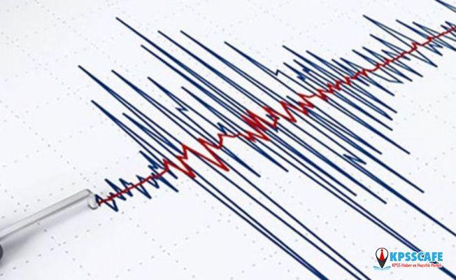 Marmaris açıklarında Korkutan Deprem!