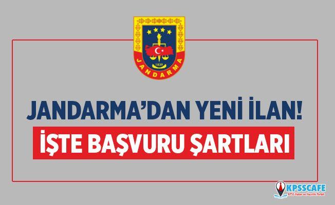 Jandarma'dan Yeni İlan! Sözleşmeli Memur Alınacak!