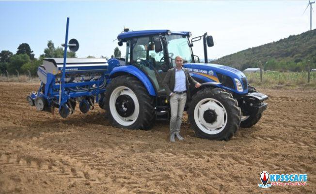 Tarımın öncüsü New Holland son teknolojilerini Bursa Tarım Fuarı'nda çiftçilerin beğenisine sunuyor