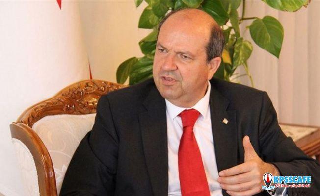 Kuzey Kıbrıs Başbakanı Tatar'dan Suriye harekatına destek