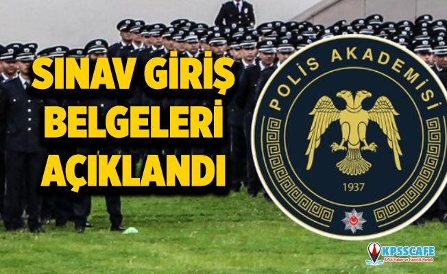 Polis Akademisi PAEM Sınav Giriş Belgeleri Açıklandı! 2 Bin Polis Alımı!