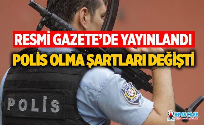 Polis olma şartları değişti! EGM, POMEM, PAEM, Polis Akademisi son dakika yeni polis olma başvuru şartları nedir?