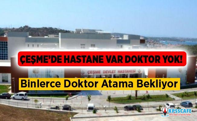 Atila Sertel: Binlerce Doktor Atama Bekliyor Hastanelerde Doktor Bulunmuyor!