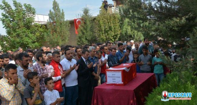 Roket saldırısında hayatını kaybeden 9 aylık Muhammed toprağa verildi!