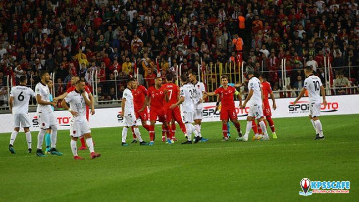 Şimdi sırada Fransa var! Türkiye, Arnavutluk'u 1-0 mağlup etti