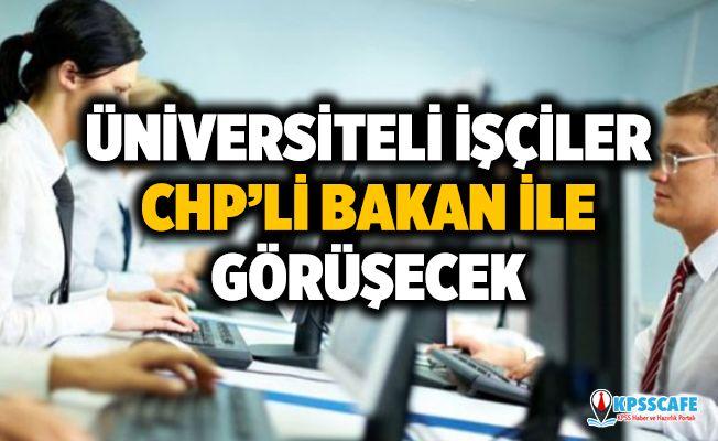 Üniversiteli İşçiler Platformu CHP'li Murat Bakan ile Görüşecek!
