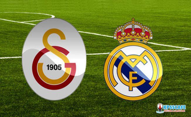 Galatasaray Real Madrid maçı ne zaman saat kaçta hangi kanalda?