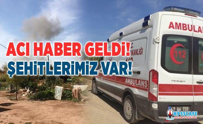 YPG/PKK'dan Mardin'e havanlı saldırı: 2 şehit, 12 yaralı