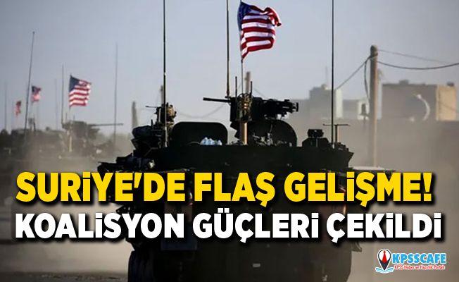 Suriye'de kritik gelişme! ABD öncülüğündeki koalisyon askerleri Münbiç'ten çekildi