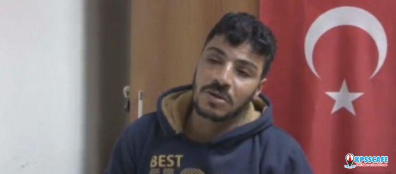 Teslim olan terörist pişmanlığını anlattı