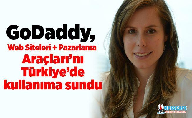 GoDaddy, Web Siteleri + Pazarlama Araçları'nı Türkiye'de kullanıma sundu