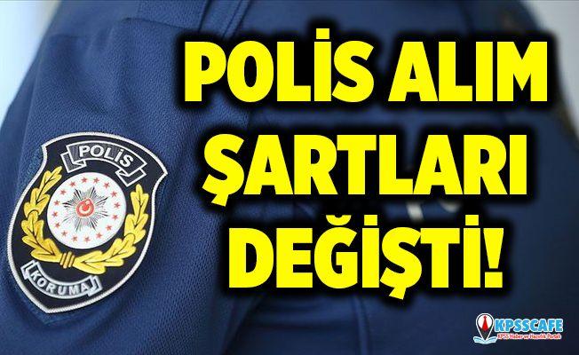 Polis alım şartları değişti! EGM, POMEM, PAEM, Polis Akademisi yeni polis olma başvuru şartları nedir?