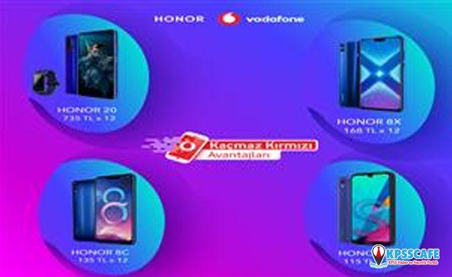HONOR'dan Vodafone Kaçmaz Kırmızı Günleri'ne Özel Fırsatlar!
