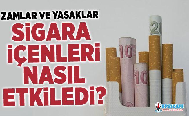 Zamlar ve yasaklar sigara içenleri nasıl etkiledi?