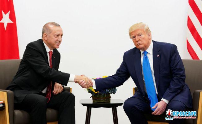 Trump: Teşekkürler Recep Tayyip Erdoğan, milyonlarca hayat kurtarıldı