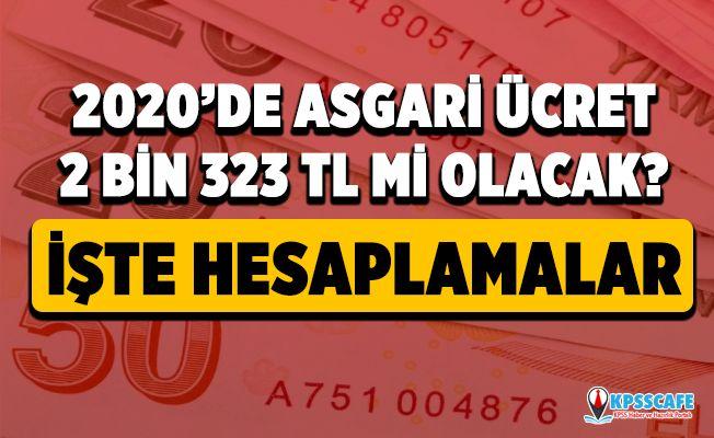 2020 Asgari ücret ne kadar olacak? Asgari ücret ve AGİ zamlarıyla ne kadar maaş alacağım?