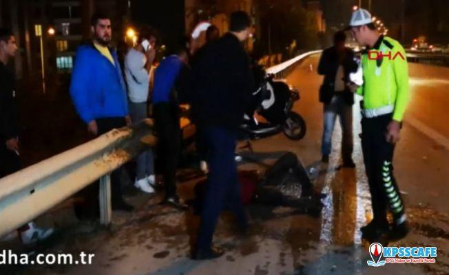 Kazayı izlemek için duran sürücü kazaya neden oldu