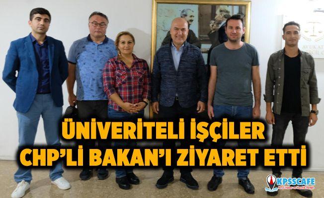Üniversiteli İşçiler CHP'li Murat Bakan'ı Ziyaret Etti!