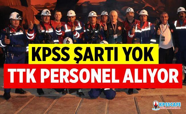 TTK KPSS'siz Personel Alıyor! İşte Başvuru Şartları...