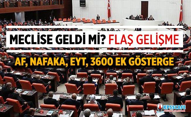 Ak Parti'den açıklama Af, nafaka, ek gösterge, taşeron işçi, EYT ve 3600 ek gösterge...