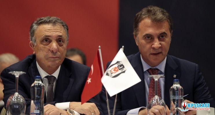 Beşiktaş'ta yeni başkan Ahmet Nur Çebi oldu