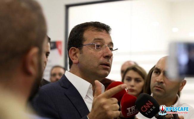 Ekrem İmamoğlu: İBB'yi ihaleden eleyenlerle seçimi iptal edenler aynı