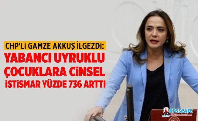 CHP'li Gamze Akkuş İlgezdi: Yabancı uyruklu çocuklara cinsel istismar yüzde 736 arttı