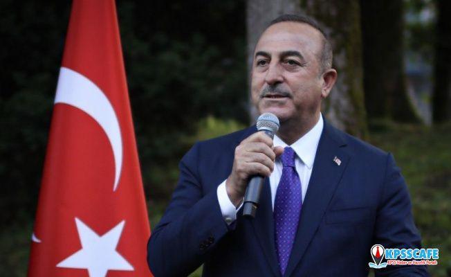 Mevlüt Çavuşoğlu: İtalya'dan Türkiye'ye silah ambargosu uygulanması konusunda gelen bazı açıklamalar kabul edilemez
