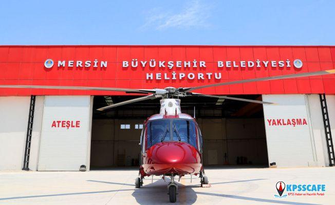Mersin Belediyesi'nden satılık helikopter!