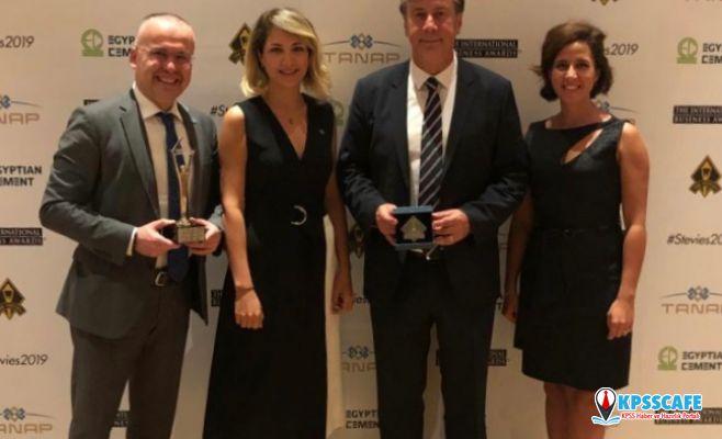 TANAP, Uluslararası İş Ödülleri'nde Avrupa'da Yılın Kurumsal Sosyal Sorumluluk Programı Ödülü'ne layık görüldü