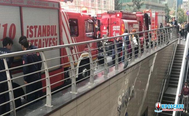 Şişli-Mecidiyeköy Metro İstasyonu'nda intihar girişimi
