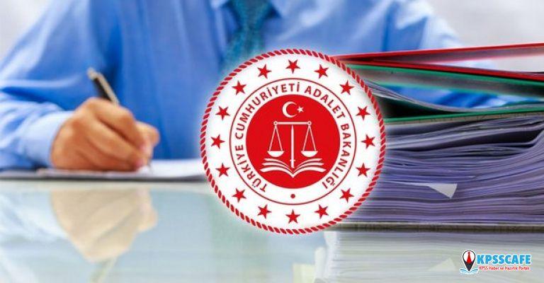 Adalet Bakanlığı 700 memur alımı başvuru ne zaman başlıyor? 2019 İcra müdürlüğü sınavı ne zaman?
