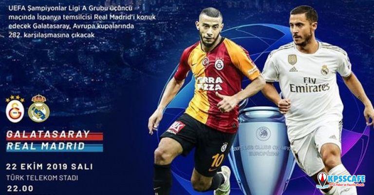 Galatasaray Real Madrid maçı canlı izleme yolları nedir?